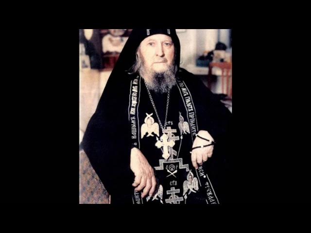 Об исцелении бесноватого из проповеди Схиигумена Саввы в формате 1080 HD