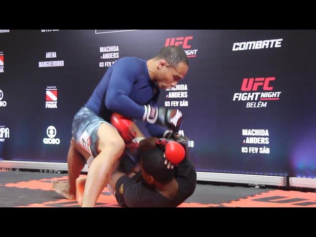 John Dodson UFC Belem Open Workout Highlights