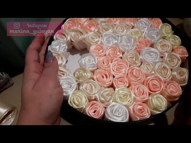 Как сделать Бутоны роз розы для букетов ✔ Marine DIY Guloyan✔