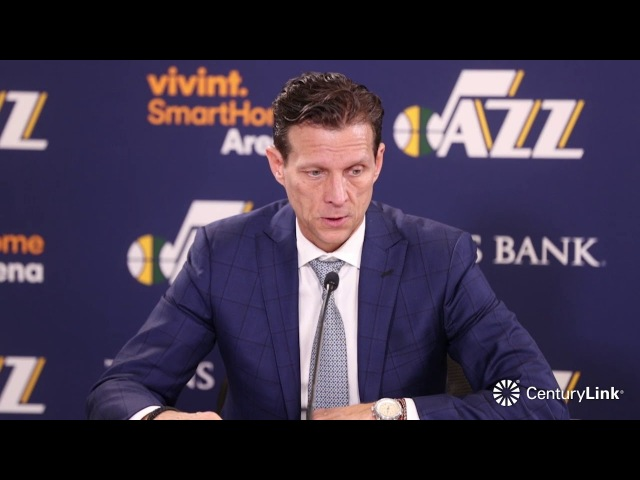 Quin Snyder Postgame Interview | Suns vs Jazz | February 14, 2018 | 2017-18 NBA Season