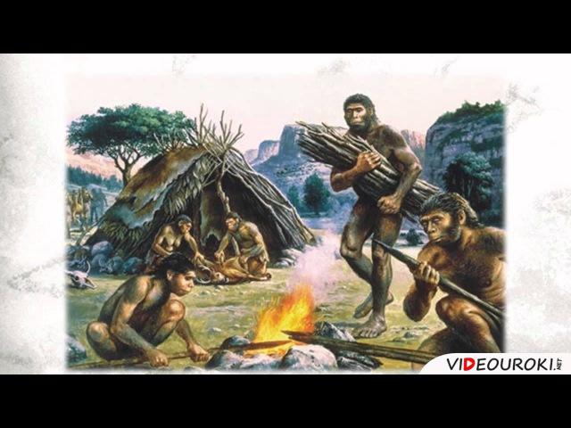 Видеоурок по всеобщей истории Древнейшие люди