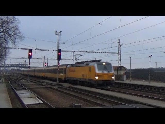 Vlaky Šakvice 15.1.2018