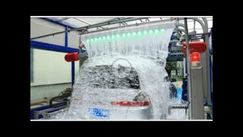 AUTOMATIC CAR WASH TUNNEL MACHINE WITH LAVAFALL MADE BY SHUI