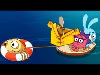 Смешарики ТУРИЗМ Новая игра про Кроша и Ёжика Прохождение! Детское игровое Видео #1