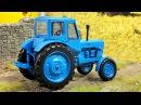 Мультфильм про Трактора для Детей и Грузовичок - Мультики про Машинки Видео для