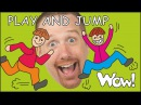 Play and Jump Story for kids with Steve and Maggie | English Stories for Children | Wow English TV