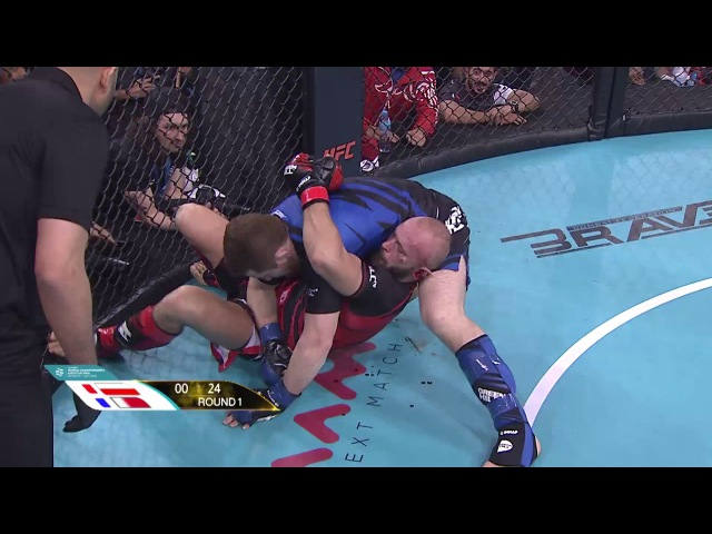 Murtaza Talha Ali (BAH) X Pawel Zakrzewski (POL) - World championship Amature MMA 16/11/2017