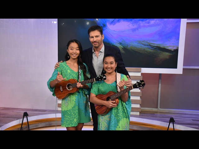 """Harry Connick Jr on Instagram: """"You've never heard the ukulele played like this! Watch the incredible duo of Honoka and Azita perform Wipeout on ..."""