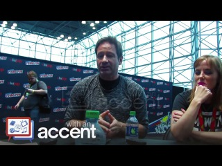 NYCC 2017  The X Files star David Duchovny