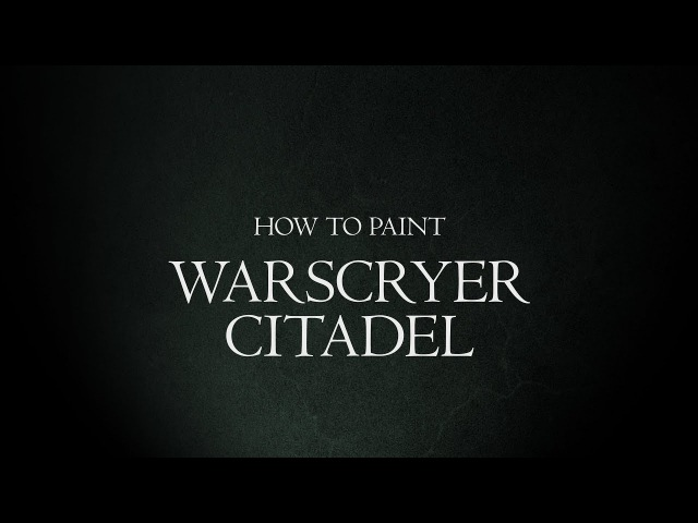 How to Paint Malign Portents - Warscryer Citadel.