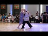 Nito & Elba Garcia @ Nora's Tango Week 2017 July 2 Vals Demo 2/2