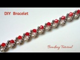 Simple and quick tutorial for a beautiful classic bracelet. Perfect for Christmas present