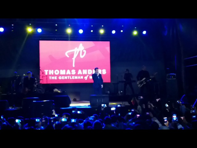 Thomas Anders Modern Talking YOU CAN WIN IF YOU WANT En vivo La Paz Bolivia 26 01 2018 FRV