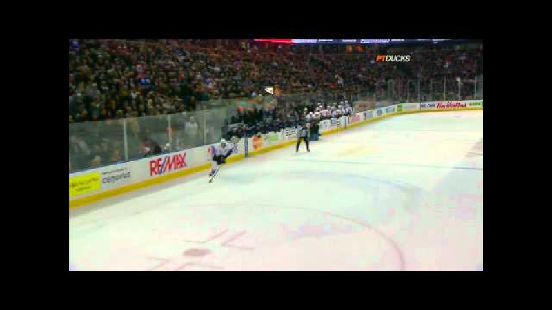 Nikolai Khabibulin incredible shootout save 12 7 10