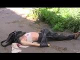Мариуполь.13 июня,2014.Нацгвардия устраивает карательную зачистку города.Один человек убит.