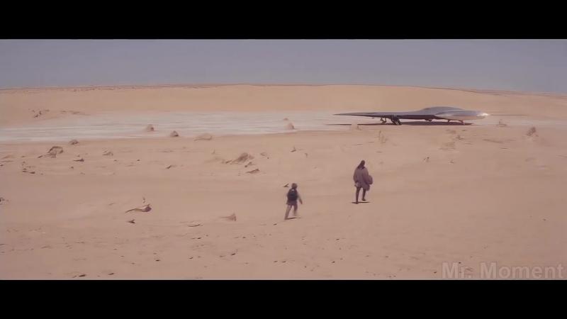 Квай Гон Джинн против Дарта Мола Первая встреча Битва на Татуине Звёздные вой
