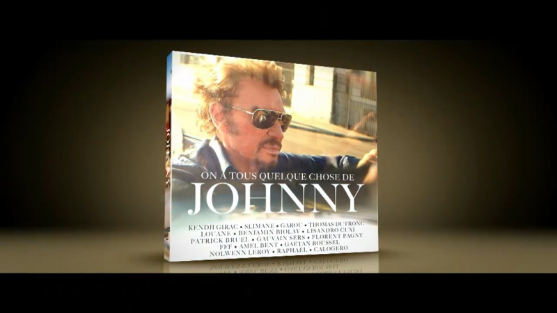 Johnny Hallyday : l'album hommage