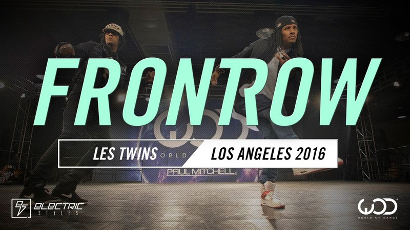 Les Twins | FRONTROW | World of Dance Los Angeles 2016 | WODLA16