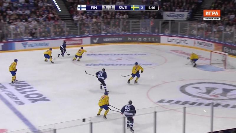 Кубок Карьялы. Финляндия - Швеция
