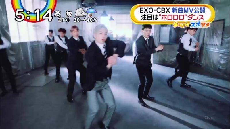 [VIDEO] 180424 EXO-CBX - Horololo @ Fuji TVs Mezamashi TV