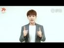 Produce 101 China 180413 Ли Вэнь Хань UNIQ поддерживает YHGirls в шоу