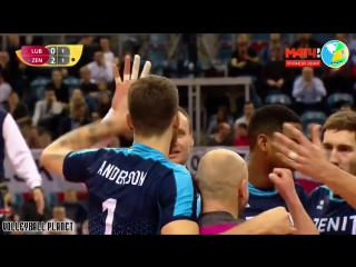 Best Volleyball Actions by Matt Anderson. Club Volleyball Championship 2017. Volleyball Videos.