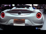 2018 Alfa Romeo 4C Spider - 2018 Detroit Auto Show