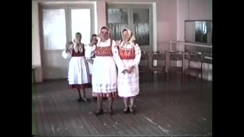 Смоленская обл., Ельнинский р-н, г. Ельня. Хоровод Всё б я по горенке ходила. 1996 г.