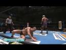 Togi Makabe Michael Elgin KUSHIDA vs Minoru Suzuki Takashi Iizuka Yoshinobu Kanemaru NJPW Road to the New Beginning 2018