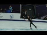 Евгения Медведева .Анна Каренина. ПП Тренировка Rostelecom Cup 2017 19.10