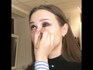 Makyaj smokey eyes ❤️