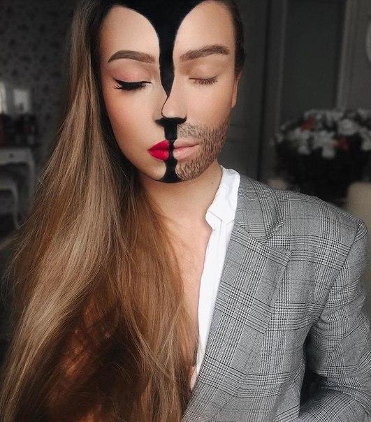 Художник-визажист Моника Фальчик из Литвы трансформирует свою внешность ярким, но изящным способом, заставляя людей взглянуть на неё дважды. 23-летняя девушка использует косметику для создания