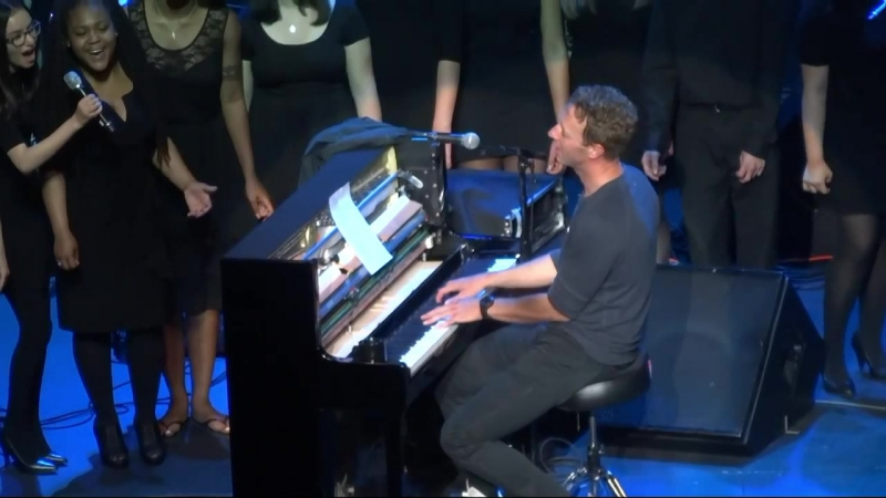 Life On Mars (Live) Chris Martin Oakland, Fox Theater April 30, 2016