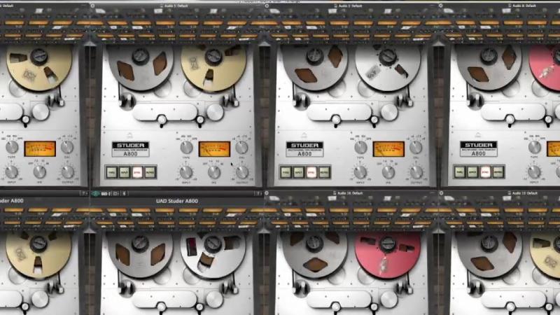 Studer A800 Multichannel Tape Recorder Plug In Trailer
