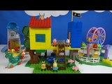 Строим из Lego Duplo - Peppa Pig Treehouse Big Building Sets