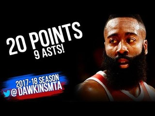 James Harden Full Highlights 2018 WCF Game 3 Warriors vs Houston Rockets - 20-9 | FreeDawkins