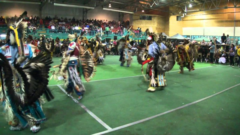 Loon Lake Powwow 2011 Mens Traditional 3rd Song Sunday Night