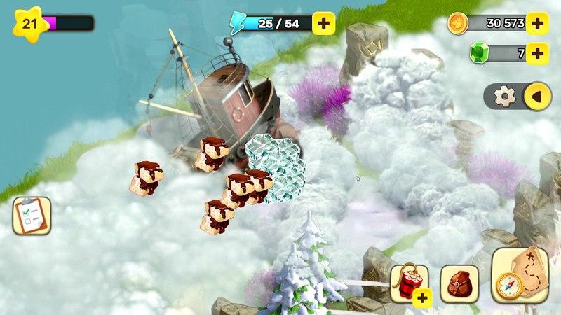 Klondike Adventures - Spirit World 10 ( Мир Духов - Мобильный Клондайк)