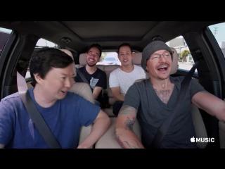 Carpool Karaoke with Ken Jeong, Mike Shinoda, Joe Hahn and Chester Bennington