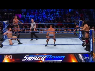 viper Randy Orton Bobby Roode vs. Jinder Mahal Rusev- SmackDown LIVE, March 27, 2018