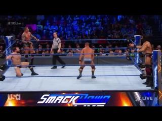 viper Randy Orton Bobby Roode vs. Jinder Mahal Rusev- SmackDown LIVE, March 27, 2018