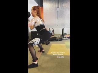 Instagram stories Мэделин Петш