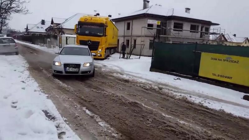Audi quattro vs TIR