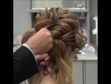 Вот так выглядит роскошная причёска!