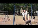 [Alex Shumskiy] Street Workout: 15 самых простых элементов на турнике/15 lightest elements on the bar