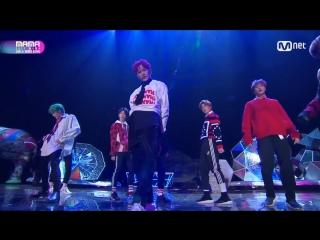 NCT 127 - The 7th Sence + Cherry Bomb @ 2017 MAMA in Hong Kong 171201