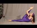 Cute Gymnast in spandex bodysuit