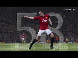 Робин ван Перси ● Все 58 голов за Манчестер Юнайтед