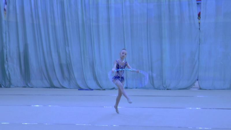 Буряк Алина, 2006 г.р. - ОБРУЧ (Архангельск), 14.05.16г.