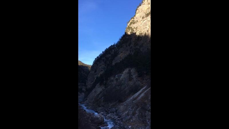 Горная река Сунжа